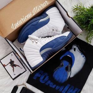 Nike Air Jordan 12 Retro French Blue Men's Shoes